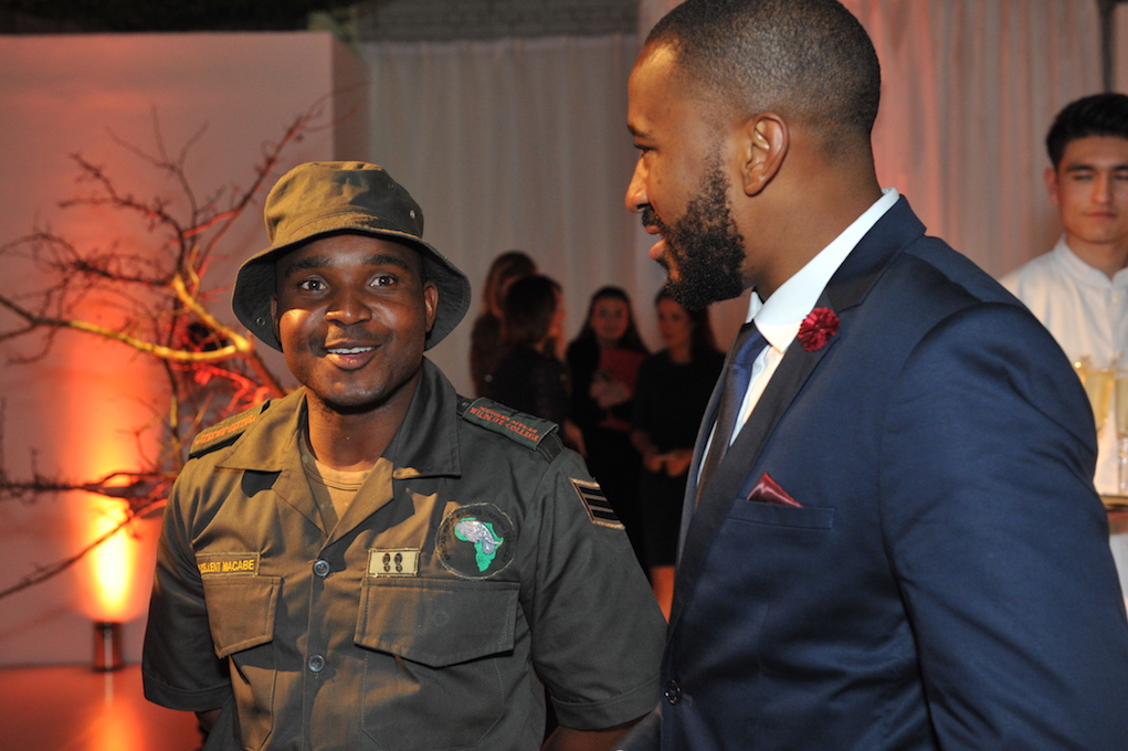 Sergeant Mcabe, Sboniso Phakathi, Southern African Wildlife College, The Royal Foundation, Conservation
