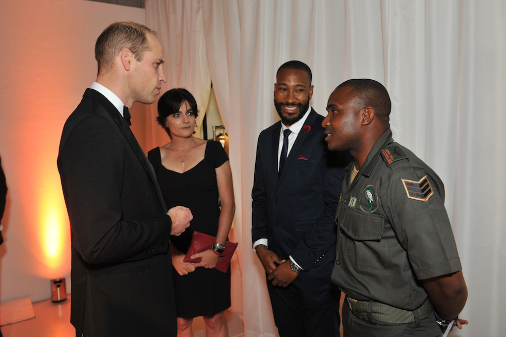 Sergeant Mcabe, Sboniso Phakathi, Southern African Wildlife College, The Royal Foundation, Conservation , Theresa Sowry