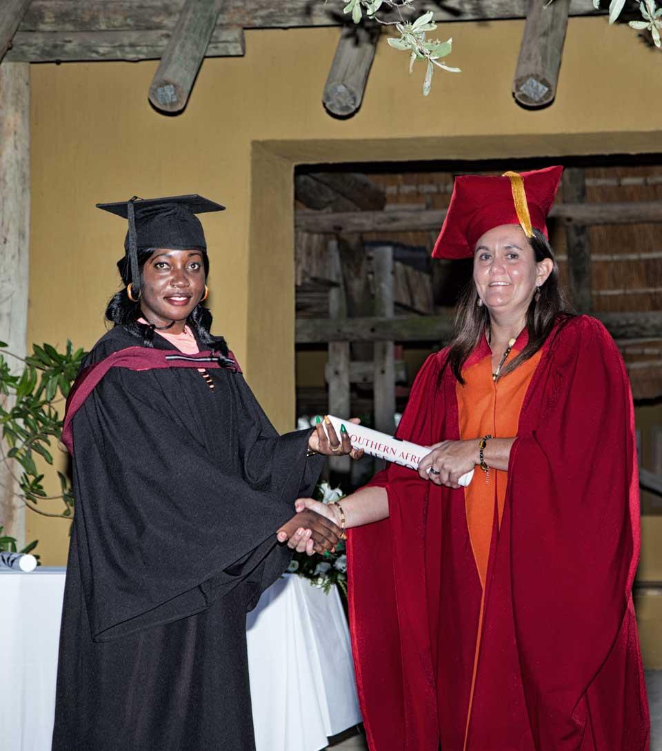 Dr. Yolanda Pretorius Graduation 2017