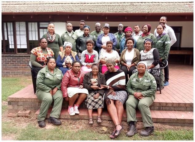 Mayibuye Community Trust Training groups