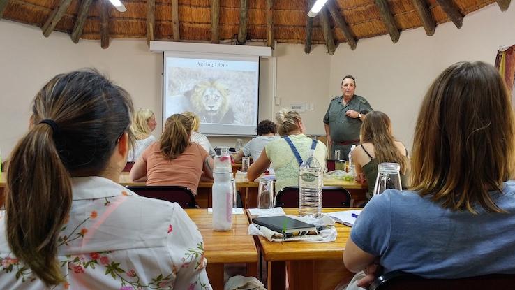 SAWC's Skills Practitioner Master Classes, Southern African Wildlife College, Ruben de Cock, Kevin Robertson, Marilize van de Walt